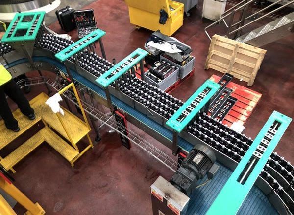 Adjustable conveyor 8